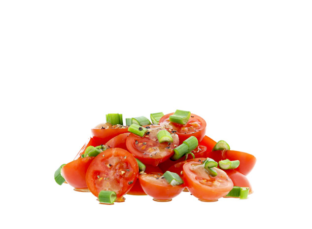 Tomaten-side-salad